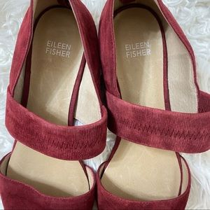 Eileen Fisher Shoes - Eileen Fisher Hall Pointed Toe Suede Flats